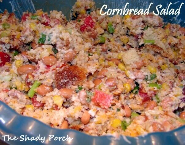 Cornbread Salad recipe cornbread beans dinner salad sidedish