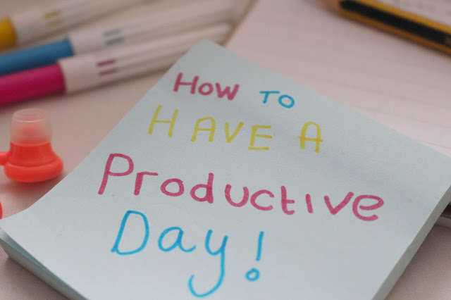 cute stationery blogger tips organised productive