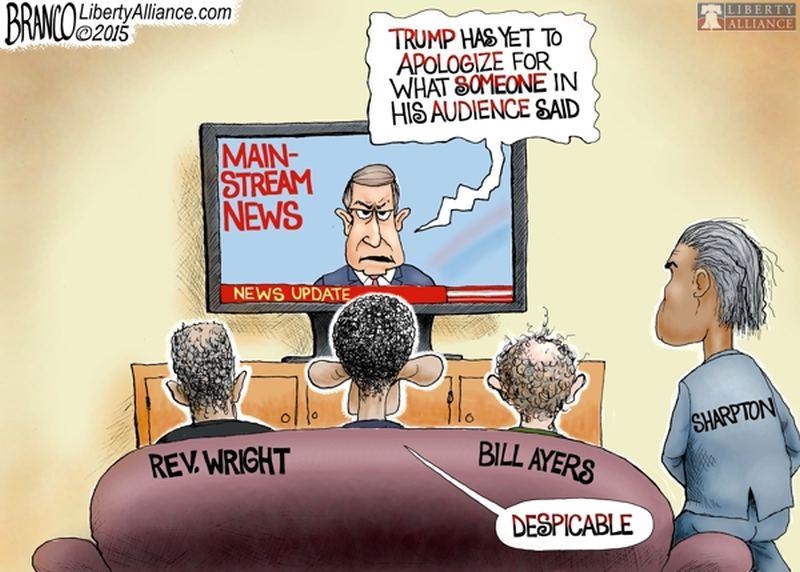 Refreshing News: GENIUS Cartoon Exposes Liberal Hypocrisy ...