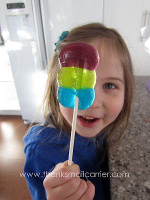 homemade lollipops