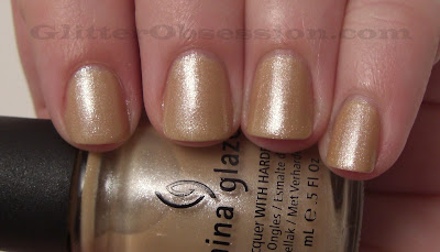 china glaze knotty nail swatch