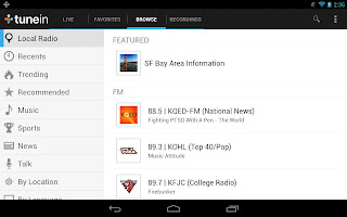 TuneIn Radio Pro v8.0 for Android