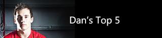Daniel Keatings top 5 Opus Energy