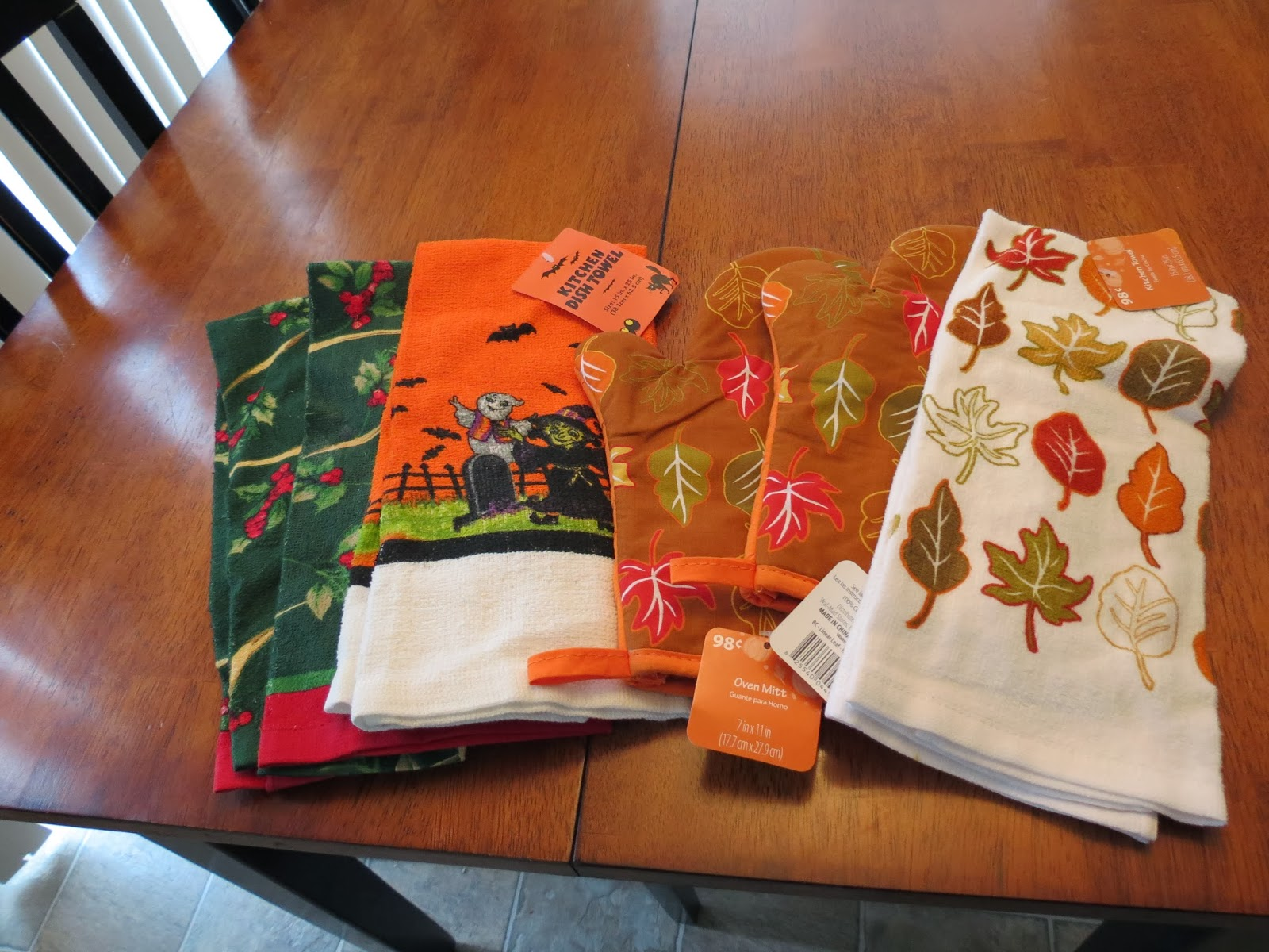 Seasonal Kitchen Towels (Brand New W/ Tags): $2 For All