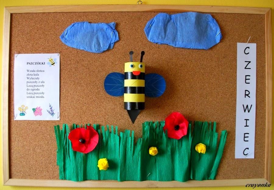 Gazetka czerwcowa z pszczołą