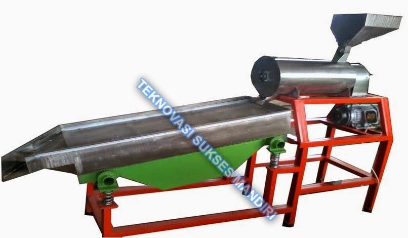 Mesin sosoh sorghum kapasitas 100 kg