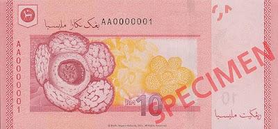 wangkertasbarurm101 Mutakhir : Wang kertas baru dilengkapi teknologi terkini: Bank Negara