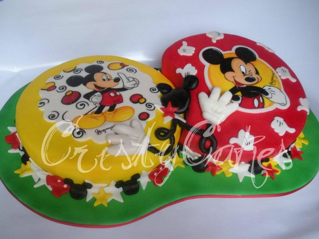 Cristy\'s Cakes: Mickey Mouse toda una fiebre