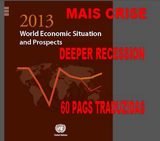 Austeridade, Fiscal, Euro, Economia, Global, Risco, Recessão, Aumenta, Risco, Economia, Global, Alerta, ONU, Relatório,