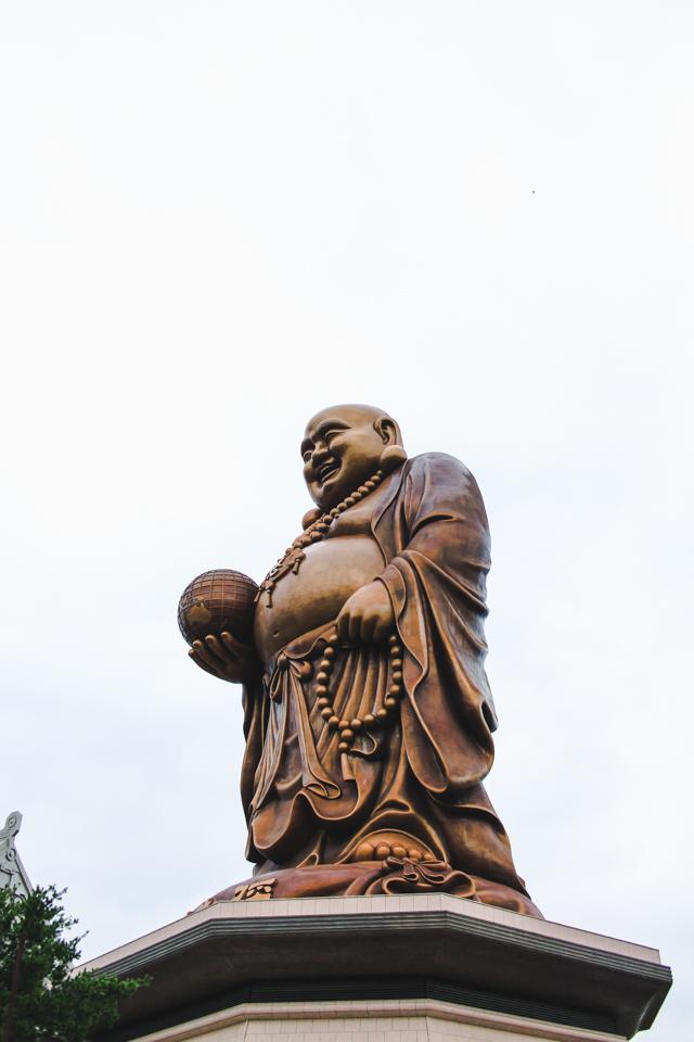 giant Buddha at the Nature Loving Wonderland   Emei, Taiwan