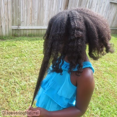 Quick Wash Day with Tresemme Naturals Conditioner