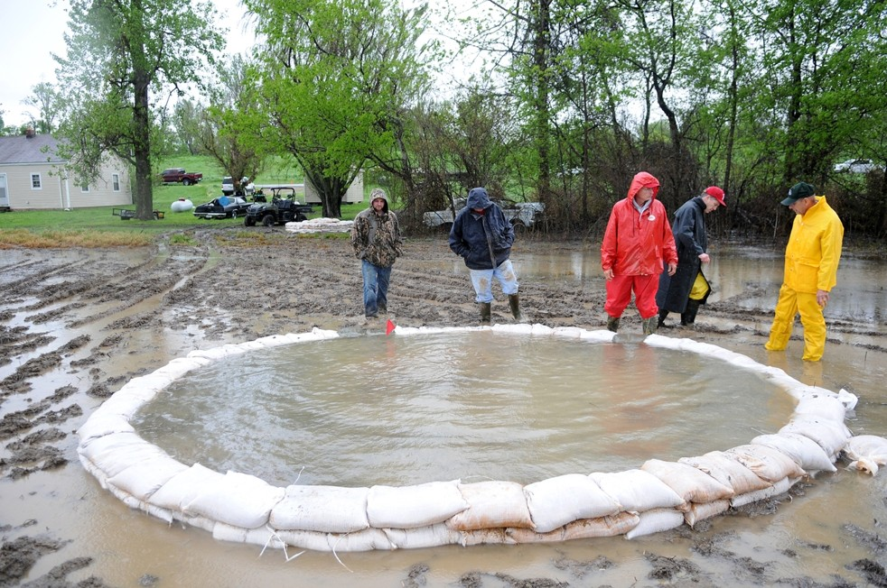 Missouri Levee Boil Forces Evacuations on Forces And Motion Ap Physics
