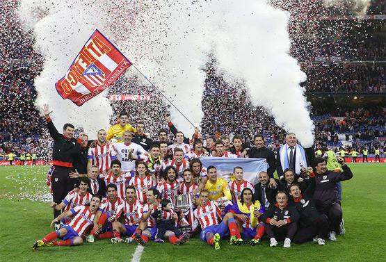 Atlético de Madrid Campeón de la Copa del Rey 2013