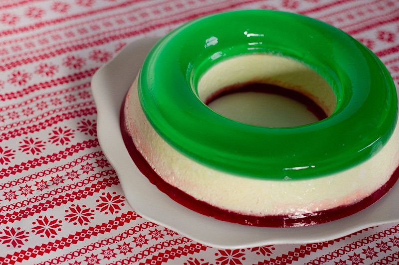 Jello-A-Day: Christmas Ribbon Jello Salad