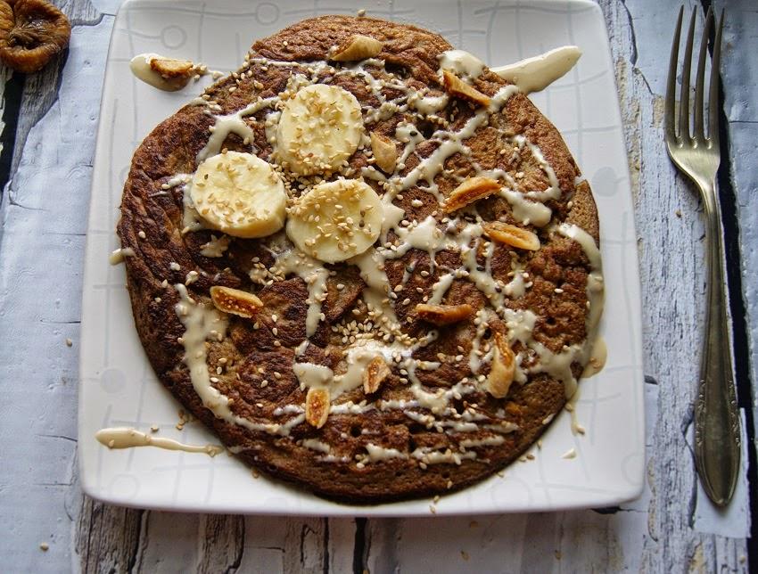 omlet z bananami