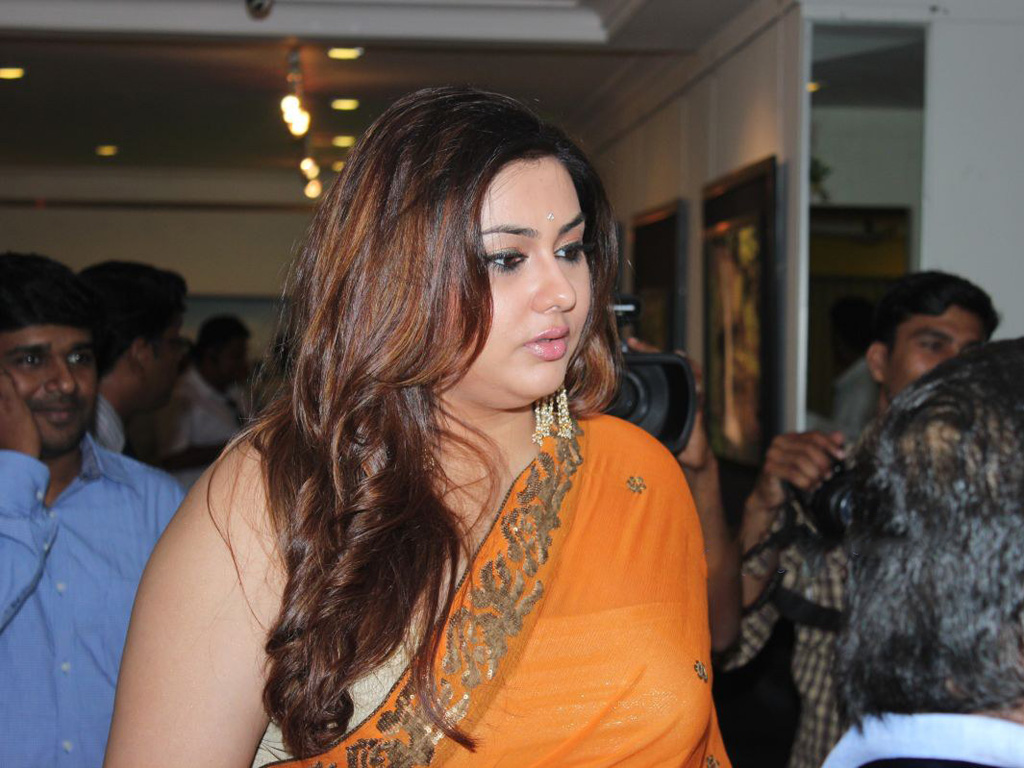 Namitha Hot At Dr Batras Photo Exhibition