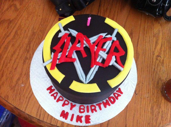 Taste Buds Slayer Cake - Slayer birthday cake