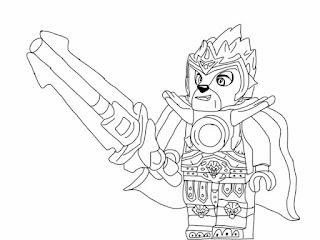 Ausmalbilder Lego Chima Malvorlagen Kostenlos