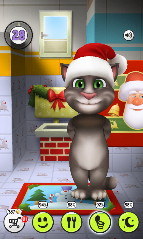 Talking tom cat 322 apk for android