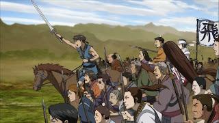 Hi Shin Tai to oddział, którym dowodzi Shin, bohater serialu Kingdom