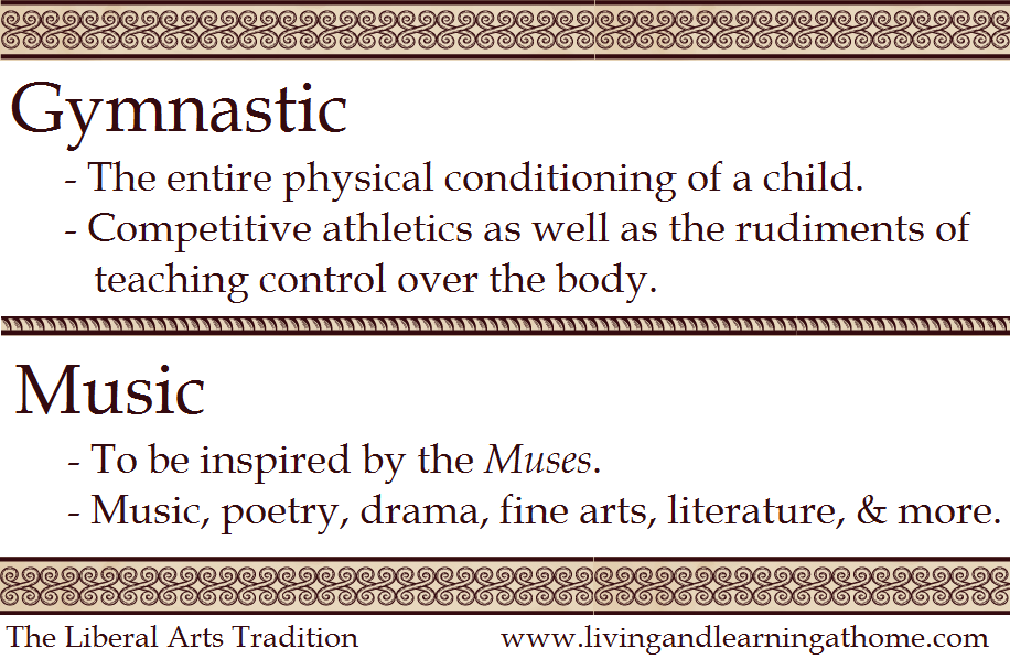 Living and learning at home october 2014 gymnastic music the basis of all education fandeluxe Image collections