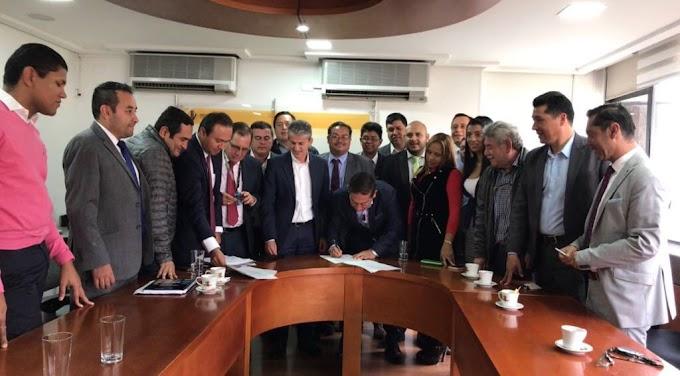 Arrancó el Contrato Plan Boyacá Bicentenario