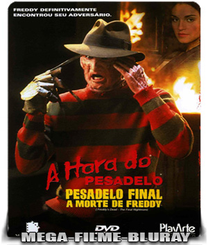 A Hora do Pesadelo 6: Pesadelo Final - A Morte de Freddy (1991) – BluRay 720p HD Dual Áudio - Torrent