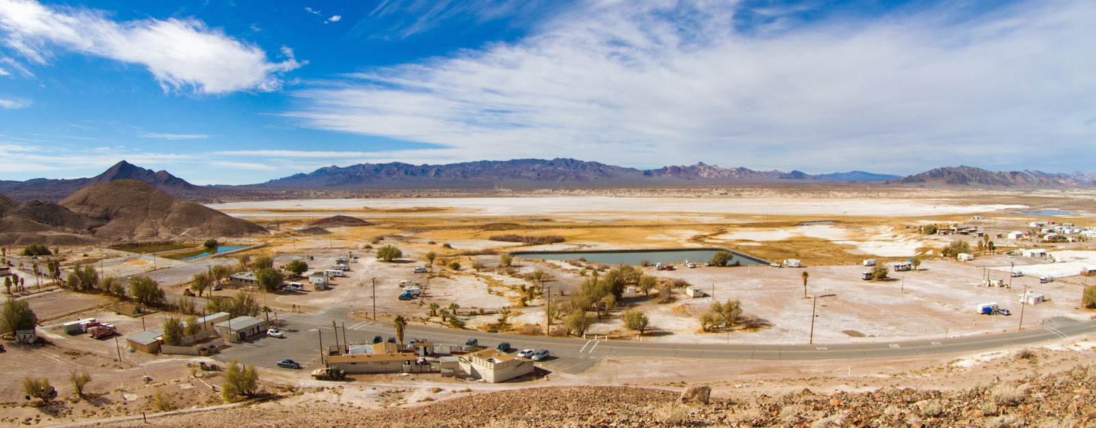 Passport America Site Seers: Tecopa Hot Springs Campground ...