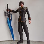Final Fantasy - Squall Leonhart Papercraft Model