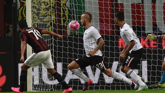 Milan 3 x 2 Palermo - Campeonato Italiano(Calcio) 2015/16
