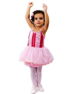 Bayi Lucu Latihan Balet