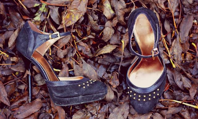 topshop studded shoe heels