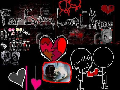 Emo Graffiti Love