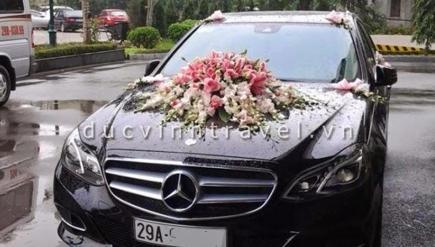 Cho thuê xe cưới Mercedes E250 hạng sang bậc nhất Hà Nội 1