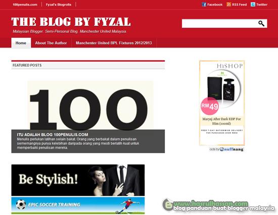 Blog Baru Pilihan Februari 2013