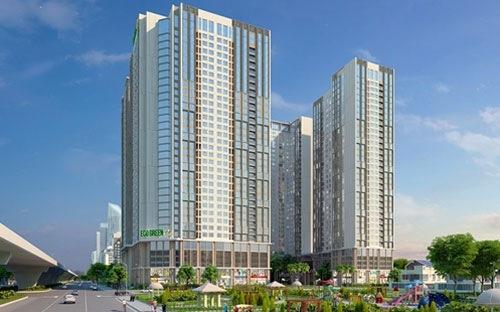 Tòa nhà Eco Spring dự án Eco Green City