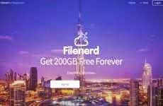 Filenerd: servicio que ofrece 200 Gb. gratis para almacenar y compartir archivos en la nube