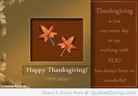 Happy Thanksgiving Quotes of  The Meaning