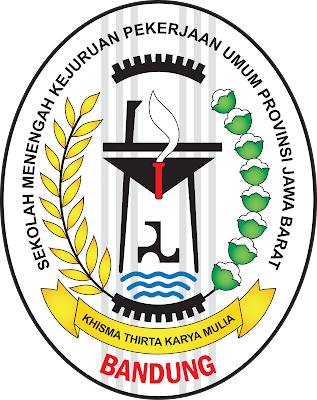Logo SMK PU Negeri Bandung Propinsi Jawa Barat