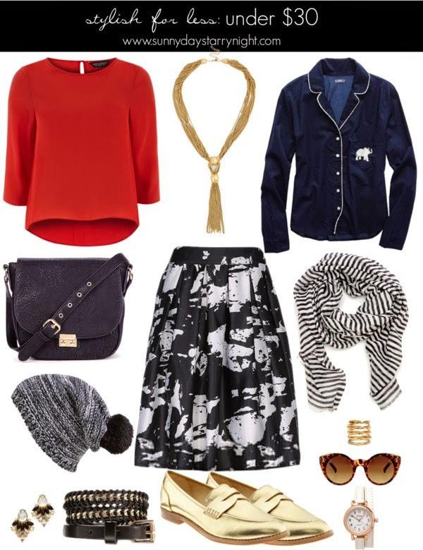 fashion under $30
