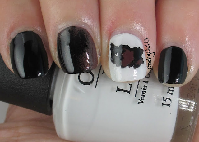 Manicurity | Cutest Guinea Pig Nail Art EVAR! + DIY Polish Decal Pictoral from Geeky Owl