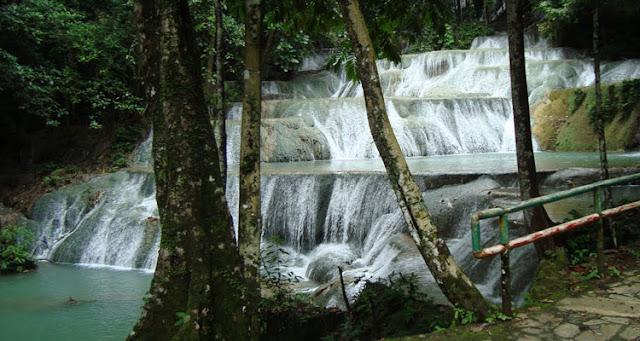 Wisata Air Terjun Maramo Konawe Selatan