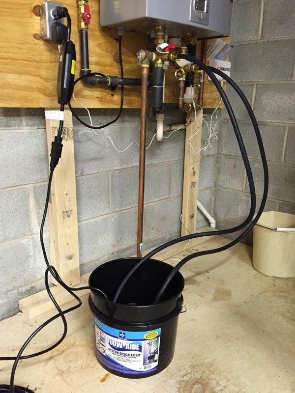 Bosch Tankless Water Heaters Descaling My Bosch C1050es