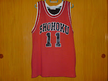 Jersey Anime Slam Dunk Shohoku