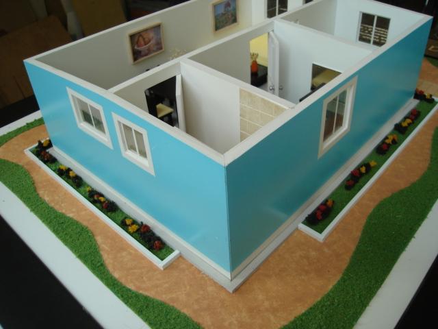 Am maquetas arquitect nicas - Como hacer una maqueta de una casa ...