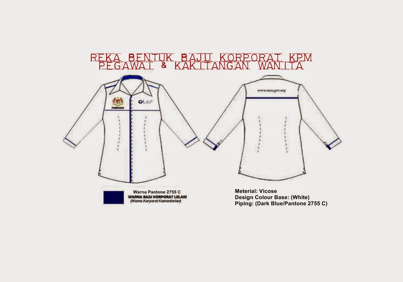 Garis Panduan Pemakaian Baju Korporat KPM.BKP.300-1/12(13)