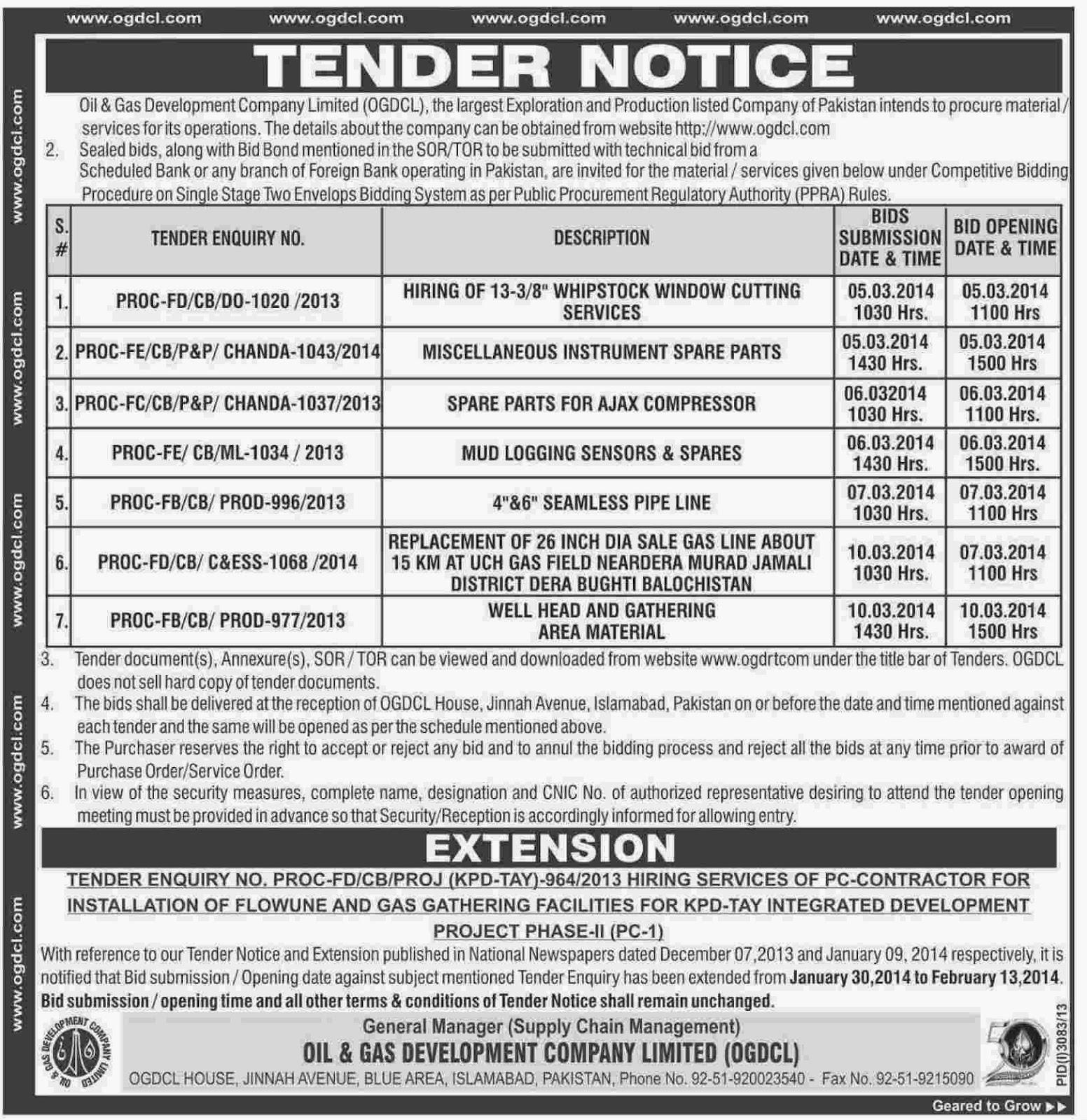 Zulfikarabad development authority tenders dating