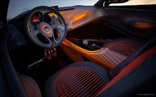 2011 Renault CAPTUR Concept Interior
