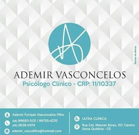 ADEMIR VASCONCELOS - PSICÓLOGO CLÍNICO