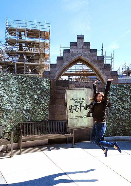 Excited for Wizarding World of Harry Potter